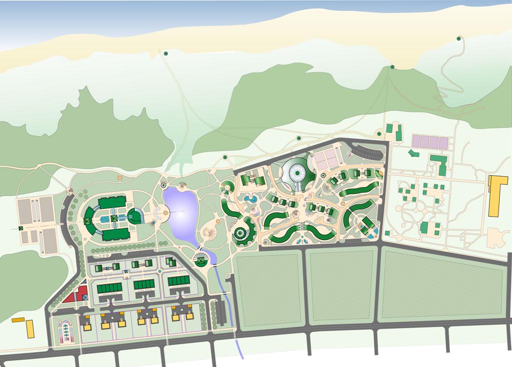 2002.Эскизный проект застройки территории в п.Лесное Светлогорский р-н