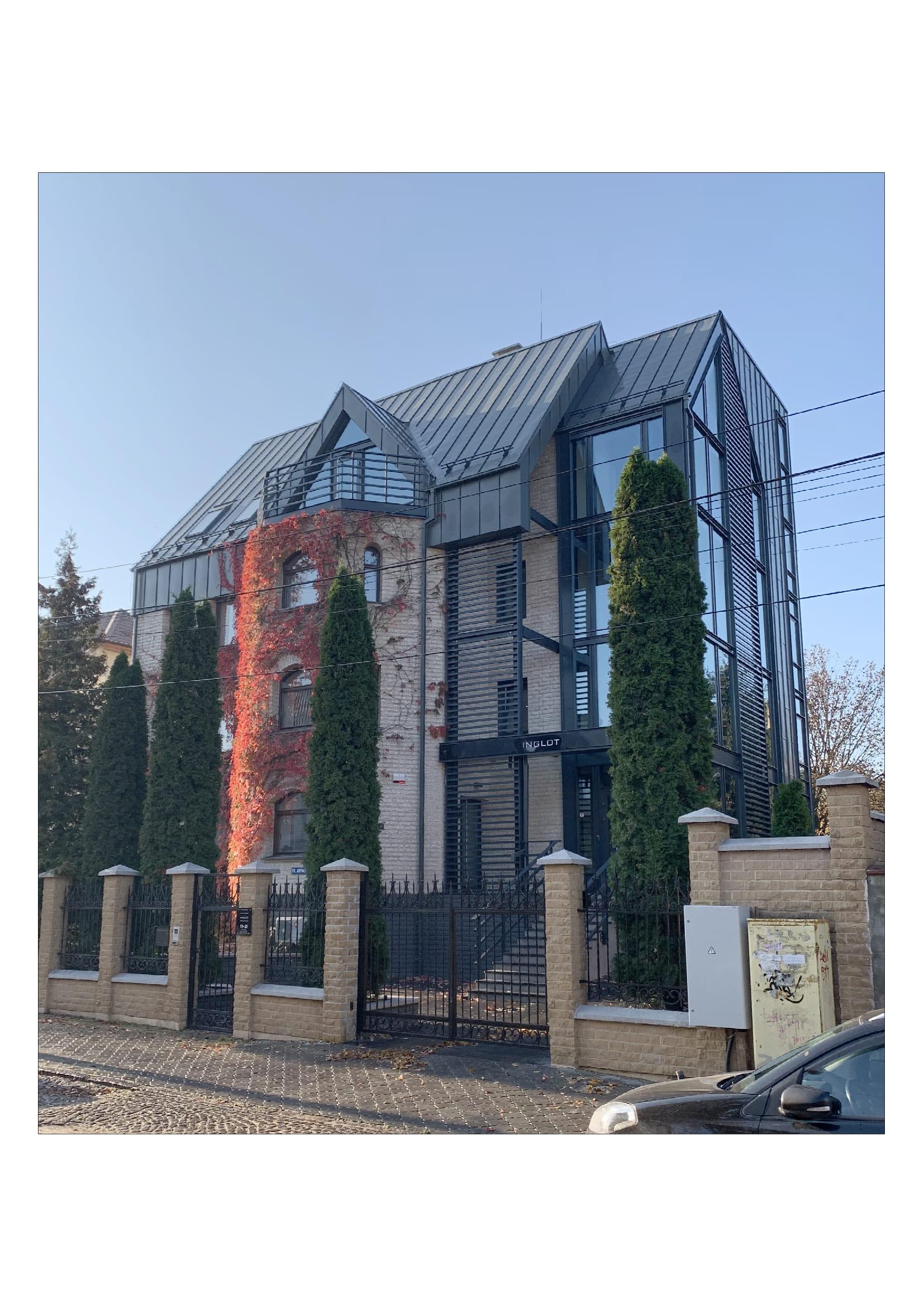 Реконструкция жилого дома под офисное здание фирмы «Инглот»