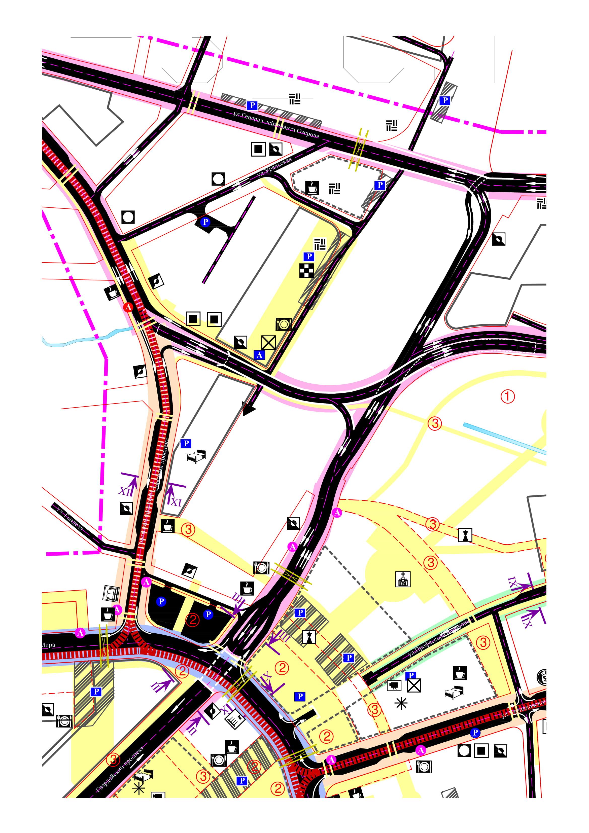 Градостроительное развитие центральной части г. Калининграда