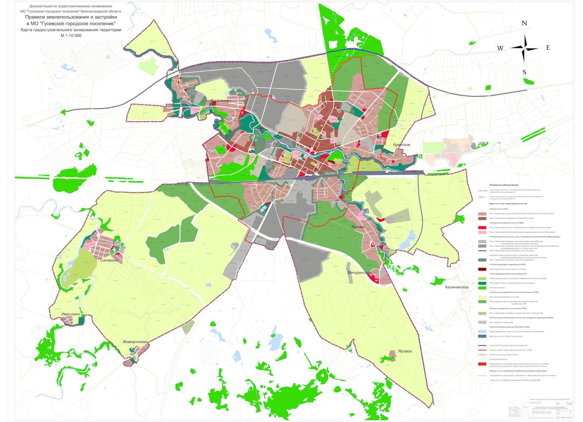 Схема территориального планирования