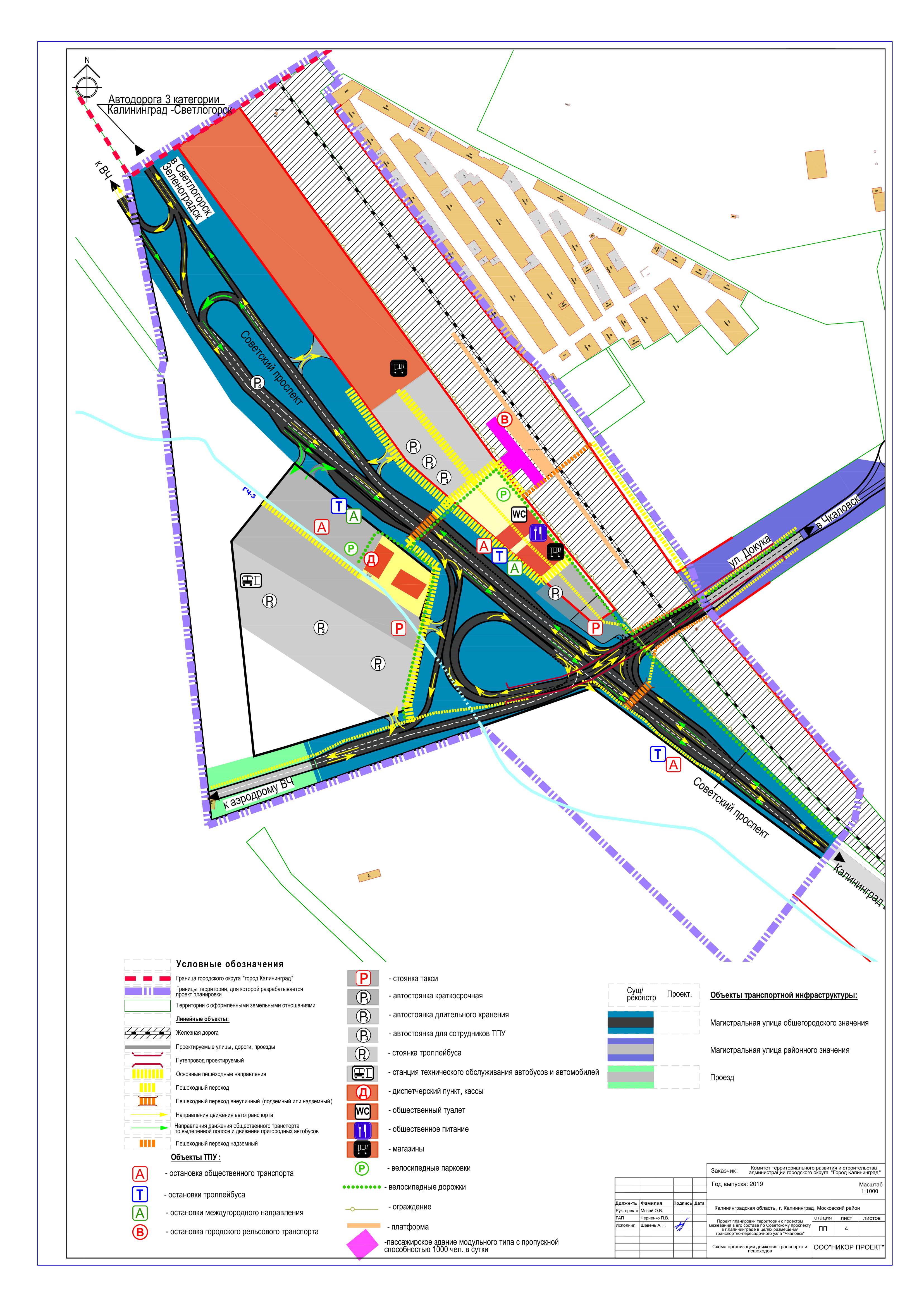 Проект планировки территории ТПУ (транпортно-пересадочный узел)